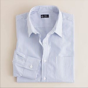 Ludlow Slim-fit spread-collar shirt